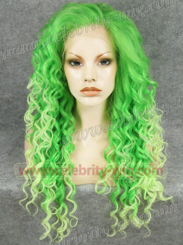 N18-TF2605/TF2606  Stunning Curly Synthetic Lace Front Wig Rupaul Wig<br><br>Aliexpress