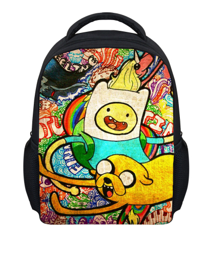 New Children School Bagpack Small Cartoon Adventure Time Backpack Baby Toddler Kids Small Shoulder Bag For Kindergarten Gilrs(China (Mainland))
