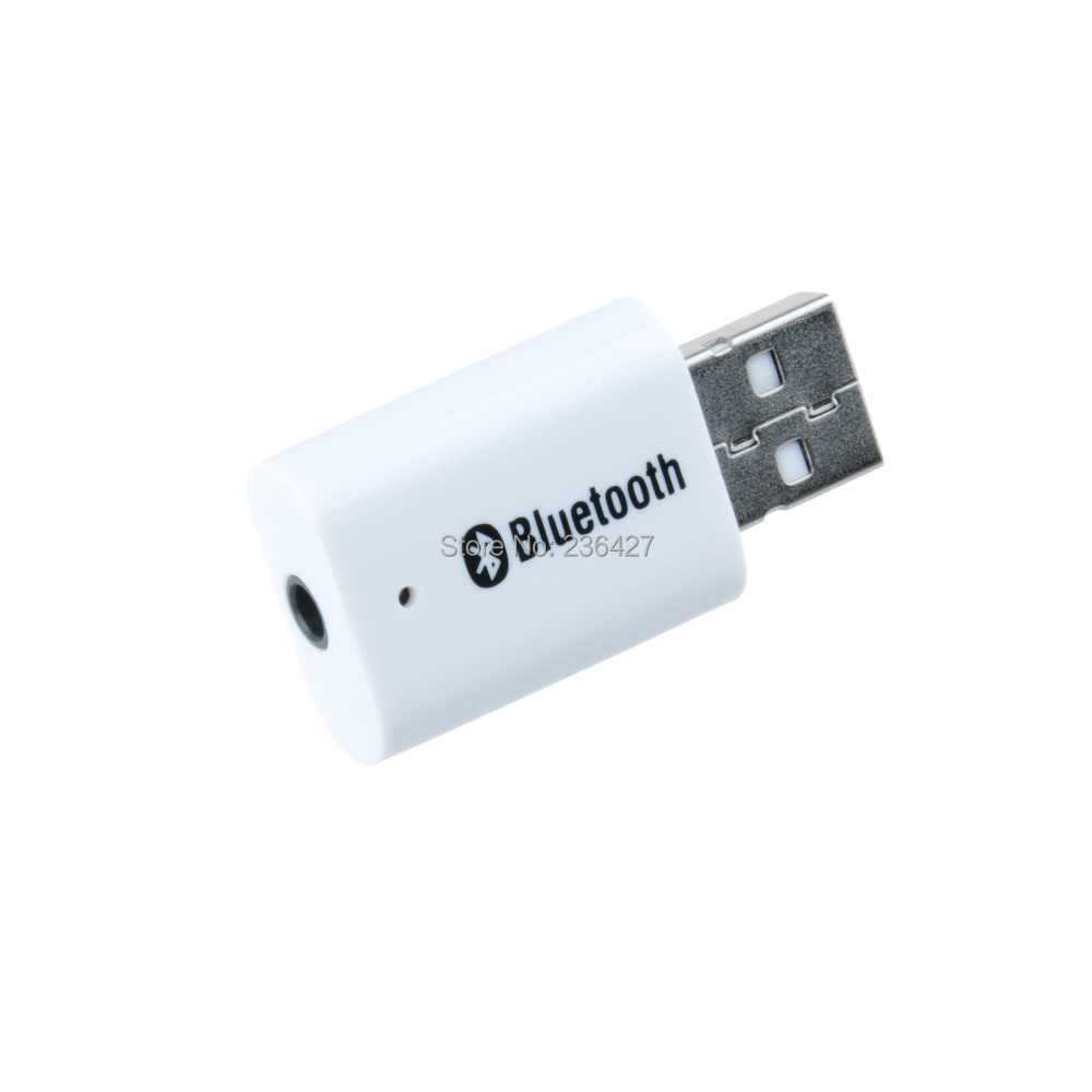 store product USB Bluetooth  mm Stereo Audio Music Receiver Adapter for PC Speaker iPhone Mp