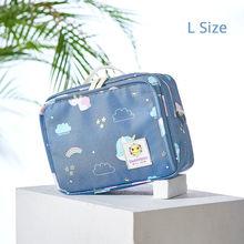 Bolsa de pañales impermeable de moda SUNVENO bolsa de pañales lavable bolsa de pañales de bebé reutilizable bolsas húmedas 23x18cm organizador para mamá(China)