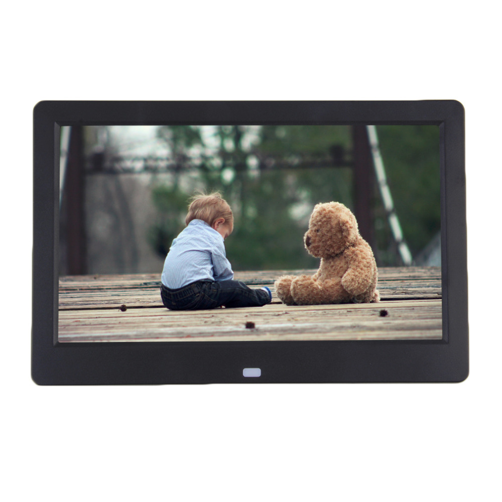 """10.1 """"pulgadas TFT-LCD Digital Photo Frame Películas Reloj Despertador Reproductor De MP4(China (Mainland))"""