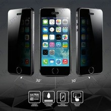 Privacy Anti-Spy Film Screen Protector For Apple iPhone 6 plus 5.5″ cell phone with retail package 50pcs/lot free express