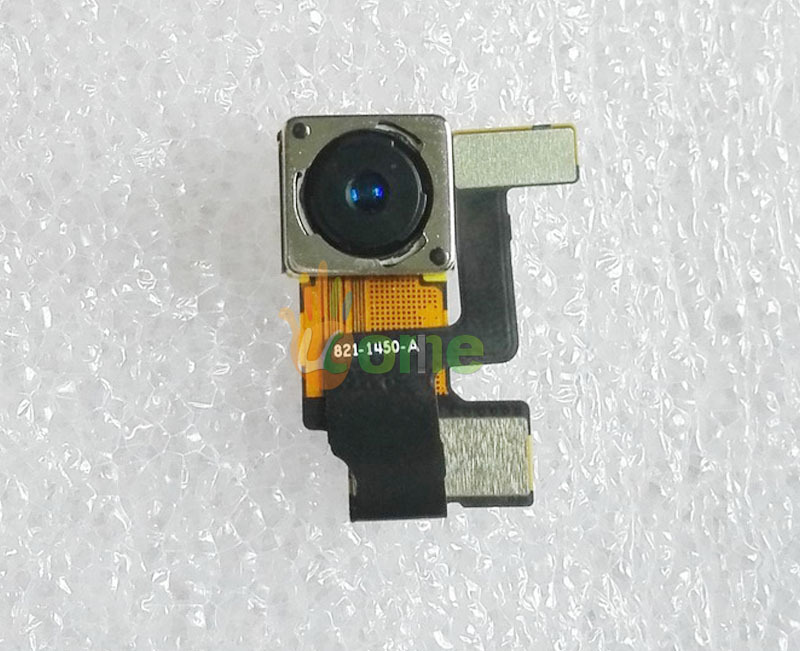 Original New Repair Parts 8.0 Mega Pix Back Rear Camera With Flash Module Flex Cable Ribbon For iPhone 5 5G free shipping(China (Mainland))