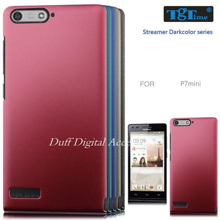 Huawei Ascend P7 Mini G6 4g Ultra-thin Metallic Paint Finger Print Defense Plastic Soft Caine Design Phone Cases Cover - HongKong NOHON International Co.,Ltd store
