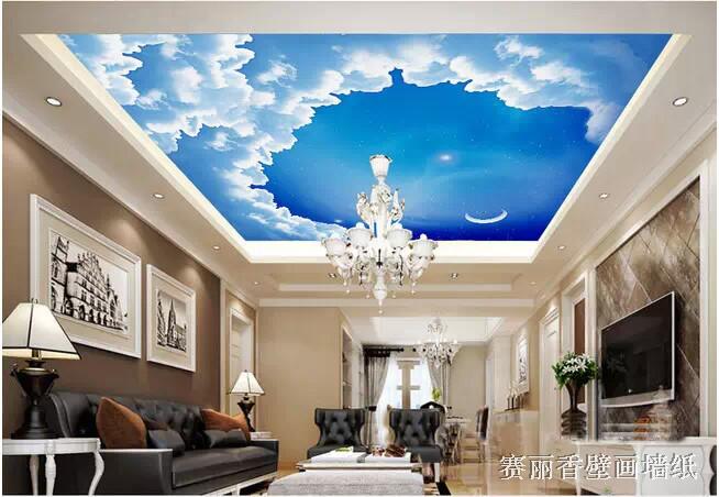 Decke Tapete Sternenhimmel : Gro?es wandbild tapete lobby wohnzimmer schlafzimmer decke decke top
