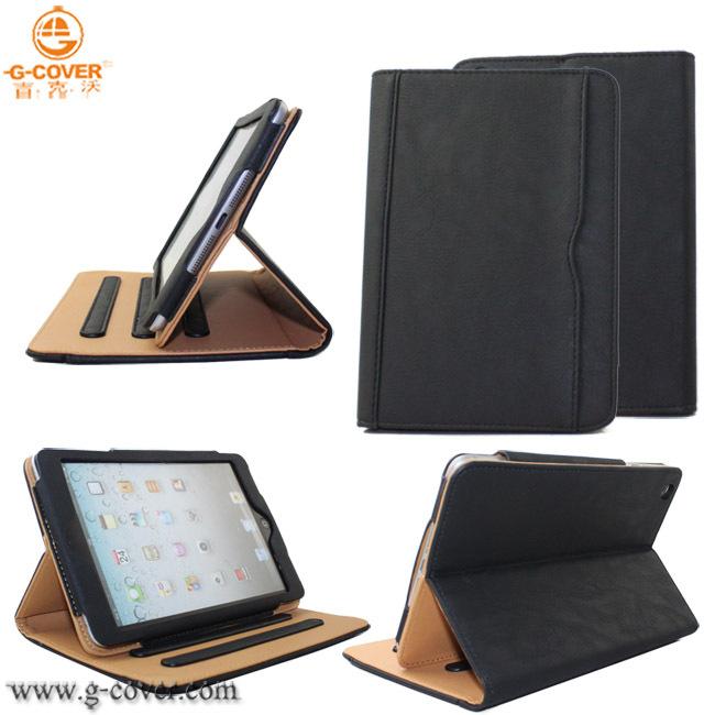 Fashionable PU leather case ipad mini pu - G-Cover Leather Trading Co., Ltd. store