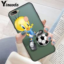 Yinuoda yellow cartoon tweety bird TPU Soft Silicone Phone Case Cover for OPPO R11S Plus R11S R15 Nornal R15 Mirror Dream R9(China)