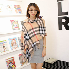 1PC 30*220cm Autumn and winter unisex Imitation cashmere knitting scarf on wholesale WJ-060