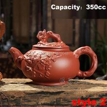 Authentic yixing teapot dragon and horse tea pot big capacity Chinese Zodiac teapot handicraft tea set