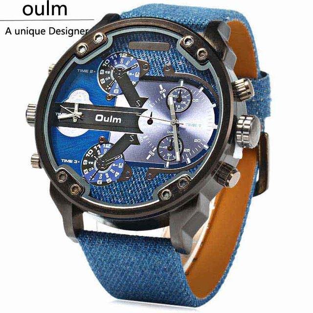 Zegarek męski Oulm militarny sportowy styl różne tarcze różne kolory
