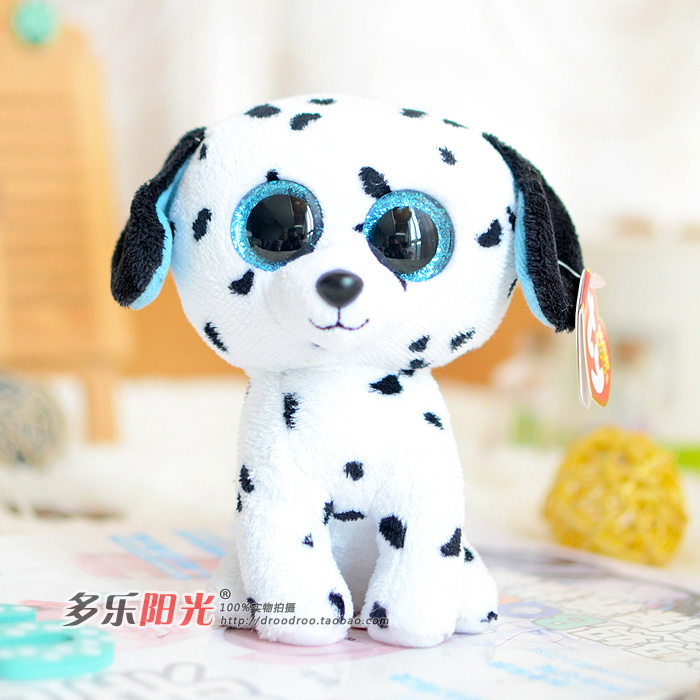 Ty big eyes 2014 colorful plush toy doll dalmatians dog gift Lovely Children's gifts Stuffed Animals cute toys - Lucky store 888 (01 store)