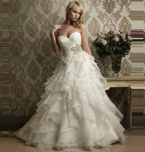Ivory White Corset Wedding Dresses