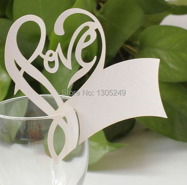 Wine Glass Table Numbers Table Name Wine Glass Card