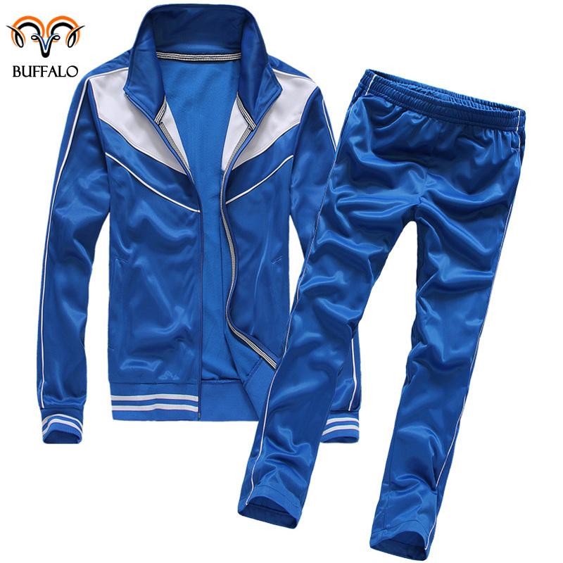 2015 Men Sportswear Suit Sports Men's Jacket Men Sports Pants Outwear Clothing Winter Jacket Cardigan Hoody Men's Sports Suit(China (Mainland))