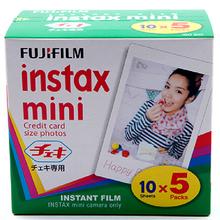 Genuine 50 Sheets White Edge Fuji Fujifilm Instax Mini 8 Film For 8 50s 7s 7 90 25 Share SP-1 Instant Camera Fast Free Shipping