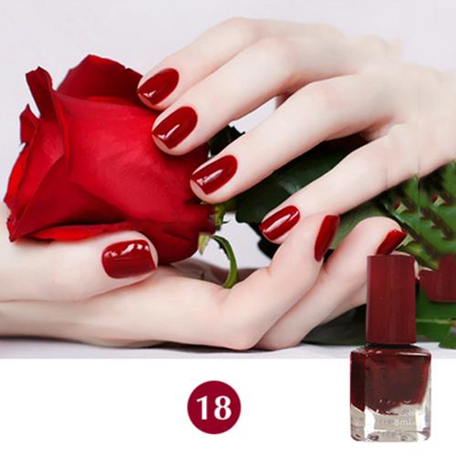 4PCS/LOT 8MLCharming Fast Drying Nail Polish Gel DIY Nail Art Aroma Sent Health Nail Lacquer Sweet Color(China (Mainland))