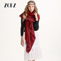2016 New Winter All-match Temperament Vertical Stripes Color Scarf Shawl Tassels Large Thickened