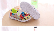 Free Shipping spring Children's shoes chaussure breathable flower cute flat han edition girls shoes Super soft and comfortable(China (Mainland))