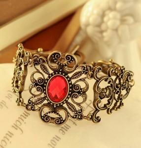 2015 New Fashionable Retro Vine Flowers Bracelets Bracelets Girl Fine Jewelry MXJ047(China (Mainland))