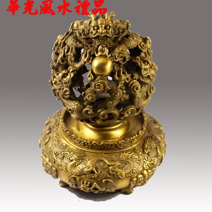 Copper incense burner feng shui decoration basons events turned the corner(China (Mainland))