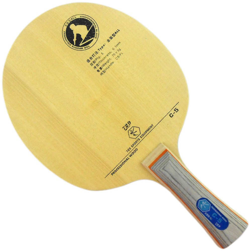 RITC 729 Friendship C-5 (C5 C 5) Table Tennis PingPong Blade shake hand 2015 At a loss Direct Selling New Favourite(China (Mainland))