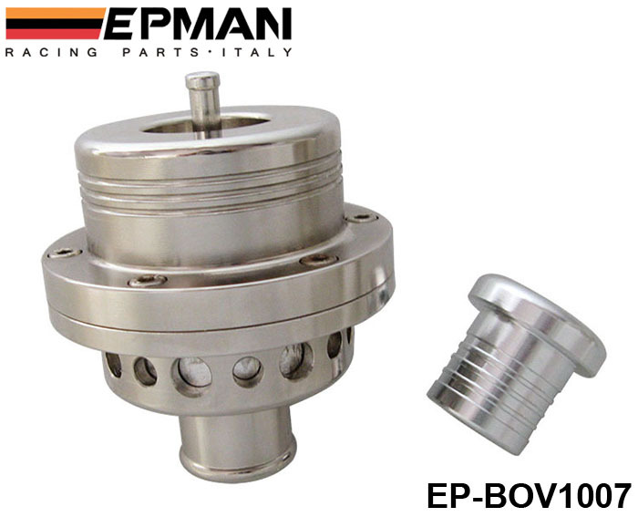 EPMAN 25MM Dual Piston BOV Blow off Turbo for Audi A4 S4,for Golf Jetta 25 PSI EP-BOV1007 Silver(China (Mainland))