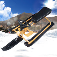 2015 Winter HOT SALE Snow Scooter and Kick Scooter Snowboard Sled sledge Motorcycle With Brake(China (Mainland))