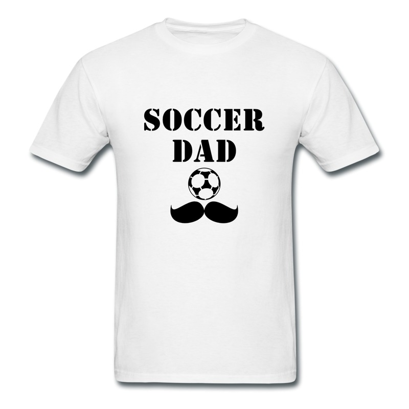 Personalize slim fit mens teeshirt soccer dad swag quotes for Boys soccer t shirts