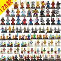 8pcs Marvel Avengers Super Hero Minifigures Building Blocks Sets Kids figures toy Bricks Superman Iron Man