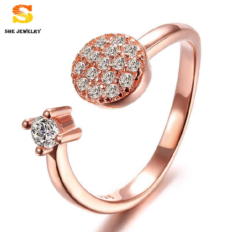 brand ring designer Design Stylish atmosphere Europe and America Popular styles rose gold 925 sterling silver rings for women(China (Mainland))