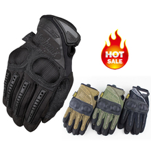 New Mechanix Wear M-Pact 3 Knuckle Protection Shooting Airsoft Army Military Outdoor Tactical Bicycle Full Finger Gloves(China (Mainland))