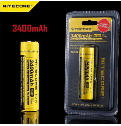 Здесь продается  HOT NEW  NITECORE NL189 environmental protection high capacity of 3400mah 3.7 V 18650 lithium rechargeable batteries  Бытовая электроника
