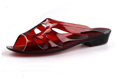 2014 New Miss Xia Ji jelly slippers