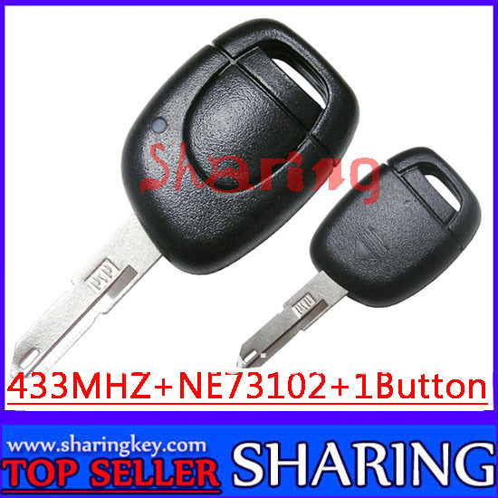 Renault Megana Laguna Cilo  Scenic  3 Button Remote Key Round Button With Pcf7946 Excellent Quality Best Price  Free Shipping<br><br>Aliexpress