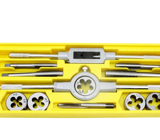 Tools Hand Tools alloy hinge tap wrench hand tapping screws 12 sets of tap wrench