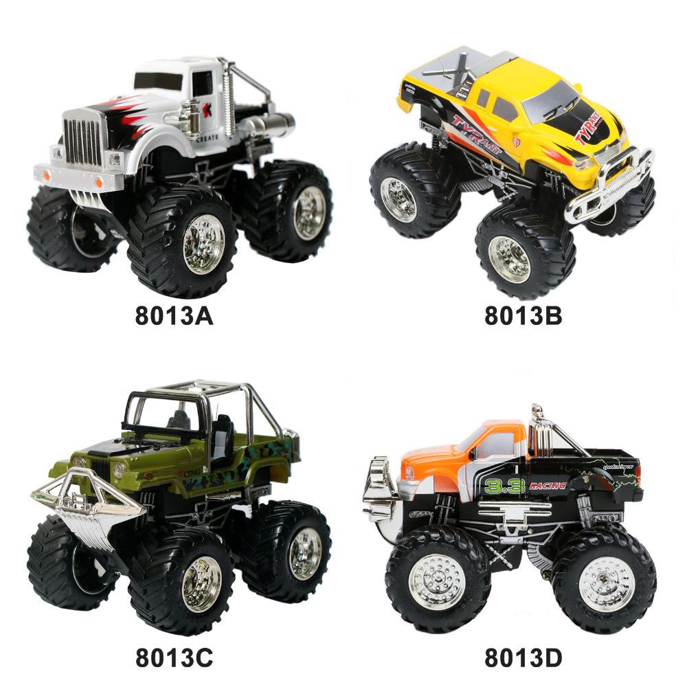 1:43 Mini Radio Remote Control RC mini Truck Car Toy RTR Big Wheel Off Road 8013(China (Mainland))