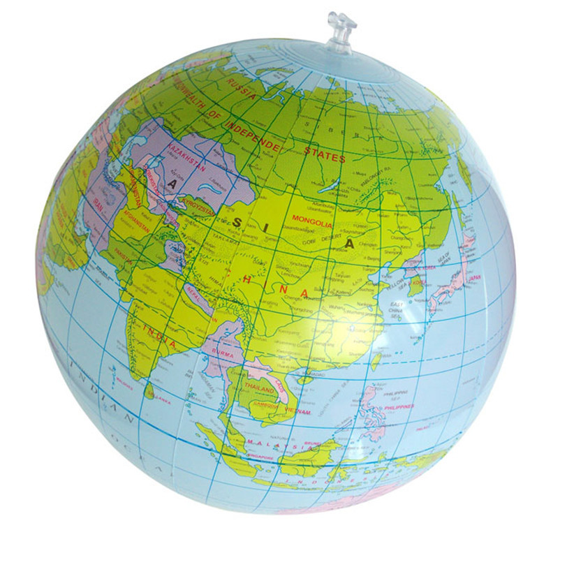 Best seller Inflatable World Globe Teach Education Geography Toy Map Balloon Beach Ball Wonderful gift for your Children baby zk<br><br>Aliexpress