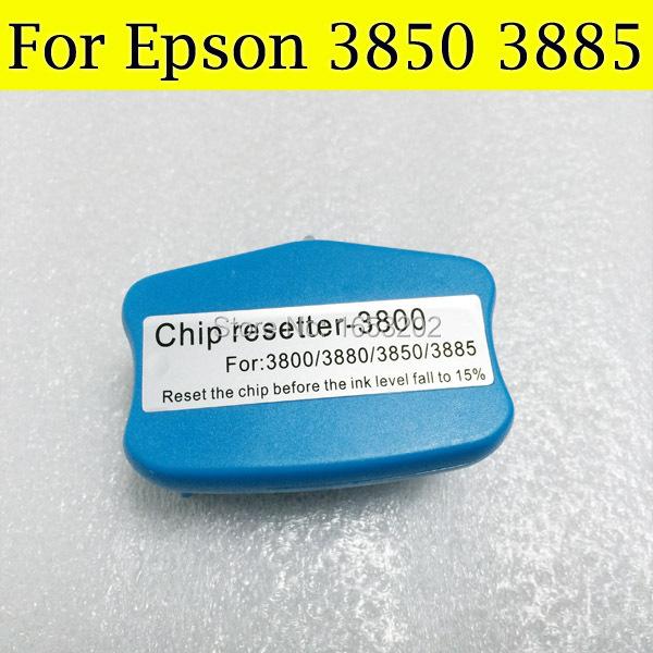 GOOD Cartridge Chip Resetter For Epson 3850 3885 Printer