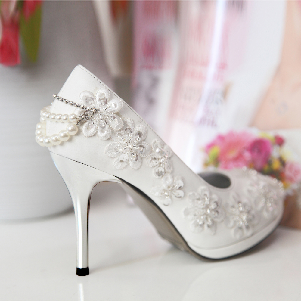 urged wedding shoes new arrival 2015 handmade beaded