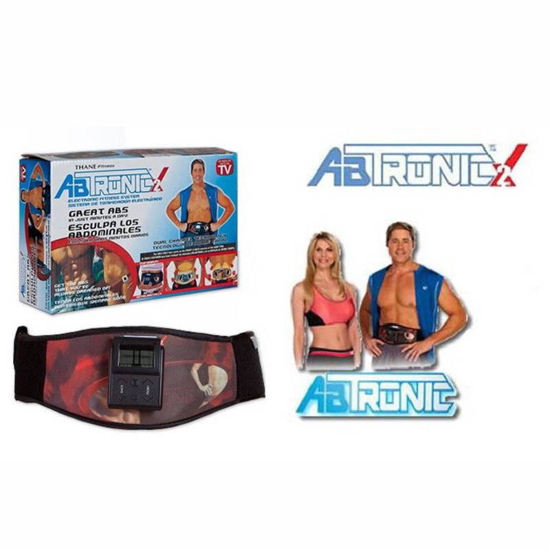Hot Sale Ab Tronic X2 Dual Fitness Belt Slimming Belt Vibration BeltSlimming Vibrating Fitness Belt Release Muscles Exercise-9