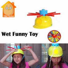 Buy MiniTudou Wet Funny Challenge Head Jokes&Funny Toys Water Roulette Game Kid Toys Great Game Gags Practical Jokes for $15.80 in AliExpress store