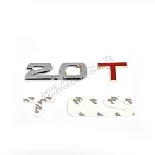 3D emblème Badge autocollant Decal 2.0 T 2.0 T Fit pour Volkswagen VW Ford TT Q3
