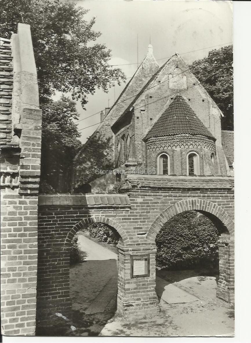 Postcard 87 Pfarrkirche A L T E N K I R C H E N Rugen Chor und Apsis 12.Jahrhundert GERGEN(China (Mainland))