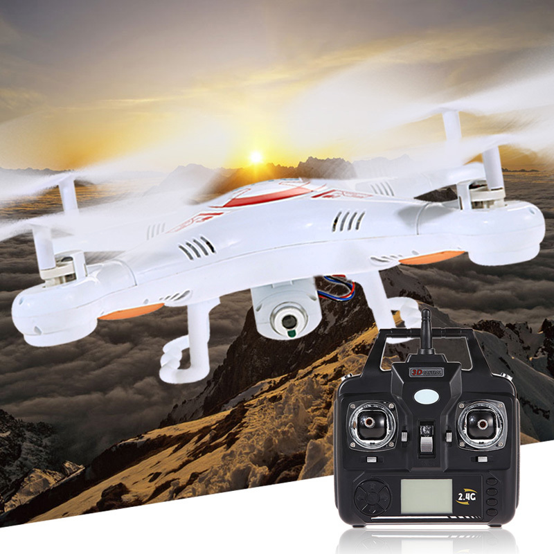 Гаджет  New X5C-1 2.4Ghz 6-Axis Gyro RC Quadcopter Drone UAV RTF UFO with 2MP HD quadcopter rc plane rc airplane drone with camera #1JT None Игрушки и Хобби