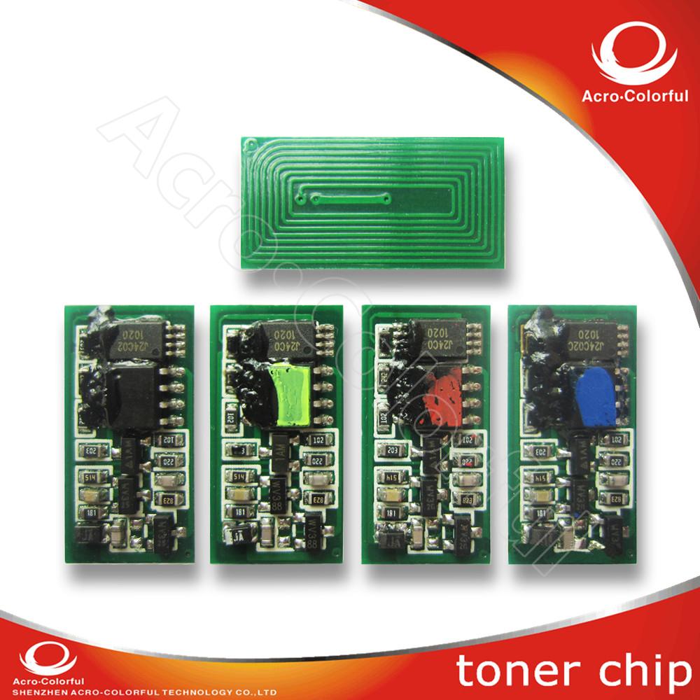 Aficio SP C810 810 11DN 811 Supply color laser printer cartridge reset toner chip for Ricoh c810 811(China (Mainland))