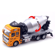 New Arrival Pull Back Truck Model Car excavator Alloy Metal & Plastic Toy Cars for Boys Toys Gift(China (Mainland))