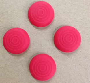 Good Quality Colorful 500pcs/lot Silicone Textured Thumb Grips for PS4/PS3/Xbox One/Xbox 360 Controller Joystick Cap GB-000021(China (Mainland))