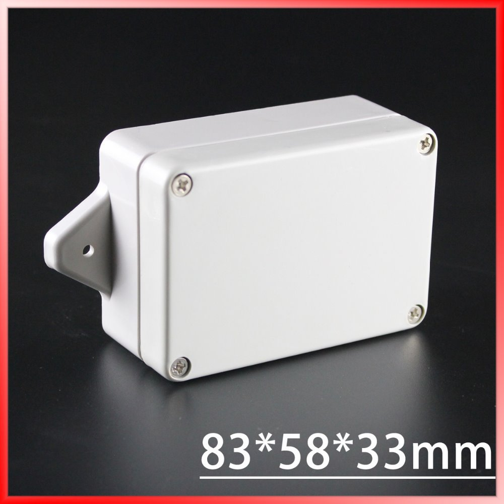 83*58*33mm 1 piece ip65 wall mounting waterproof plastic enclosure/box for electronic<br><br>Aliexpress