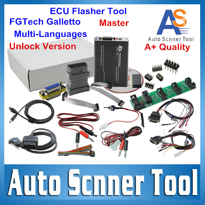 2016 Hot Sale FgTech V54 ECU Chip Tuning Tool Galletto Master Unlcok Version BDM-TriCore-OBD FG TECHE Support BDM Full Function(China (Mainland))