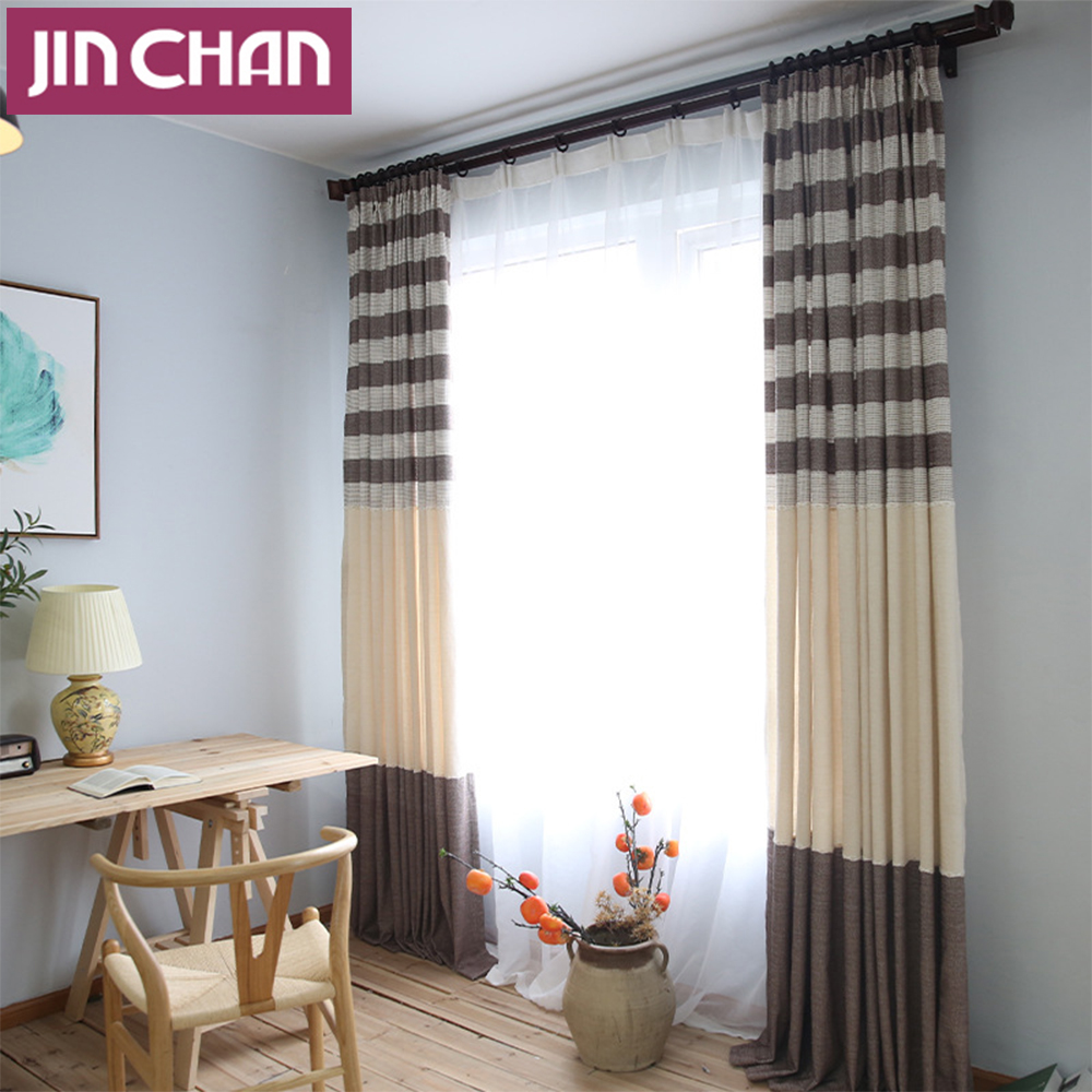 Popular Striped Country Curtains Buy Cheap Striped Country Curtains Lots From China Striped